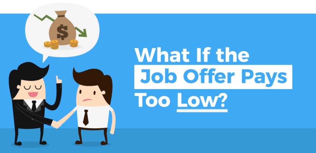 What If the Job Offer Pays Too Low?